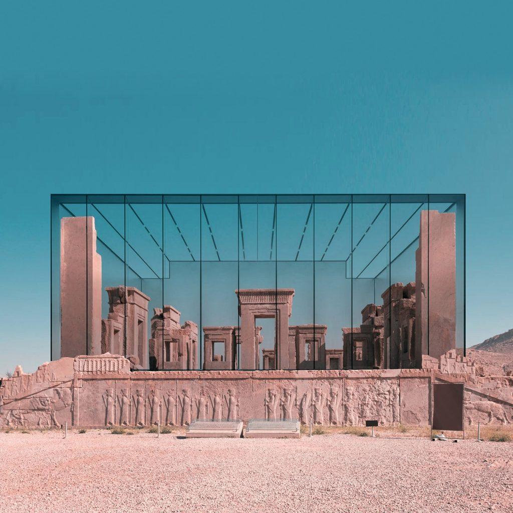 Fondere antichi edifici preislamici a quelli dei grandi architetti Collateral