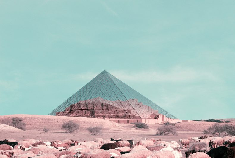 Architectural photomontages by Mohammad Hassan Forouzanfar