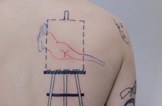 L'originale imperfezione dei tatuaggi di Gleb Pesoc