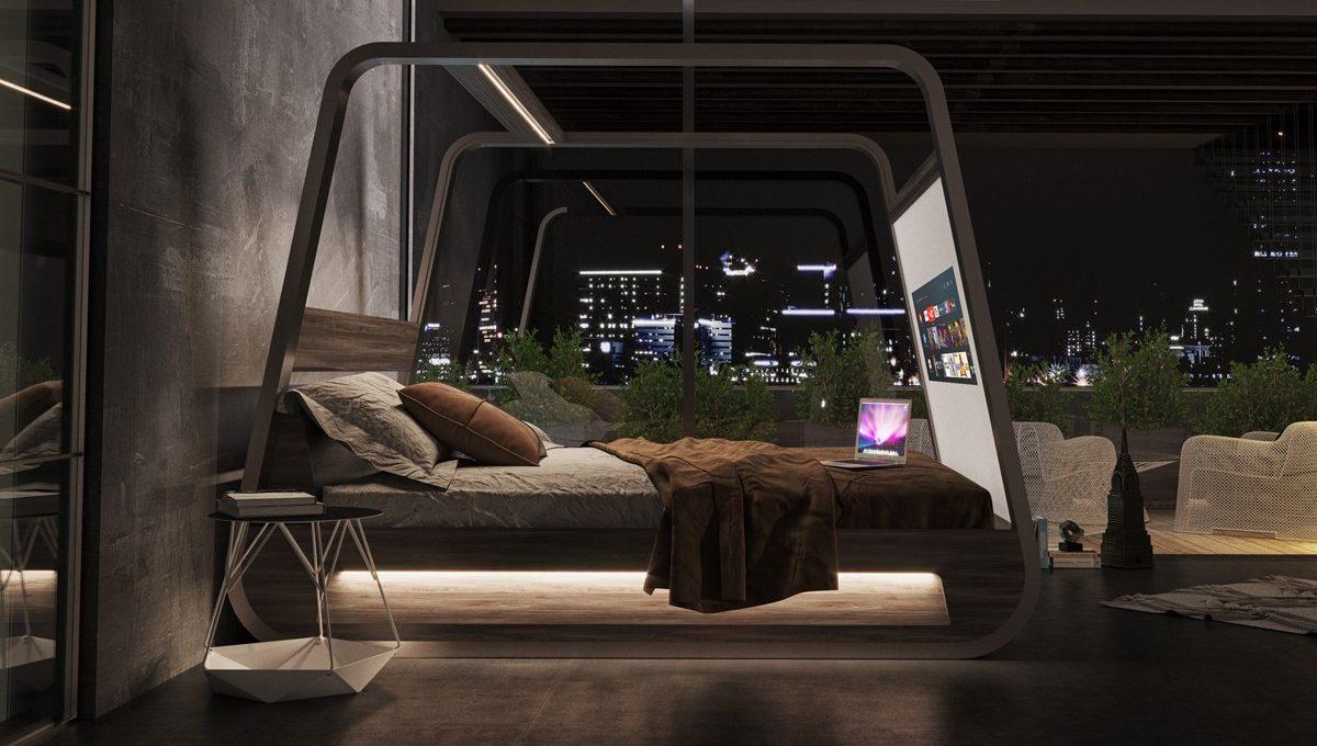 HiBed è lo smart Bed 2.0 di Hi-Interiors