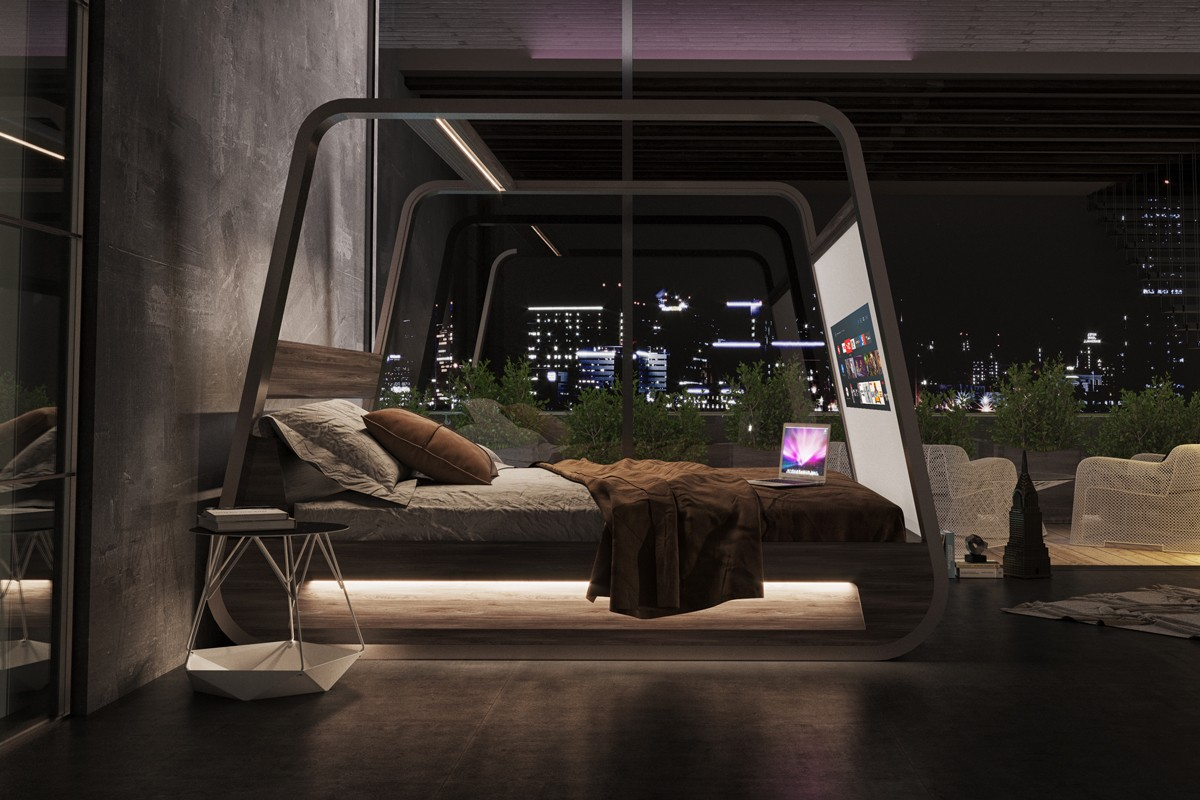 HiBed is the smart Bed 2.0 by Hi-Interiors