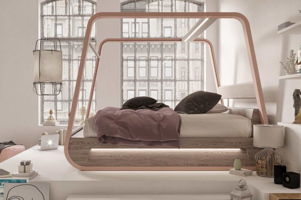 HiBed lo smart Bed 2.0 di Hi-Interiors | Collater.al