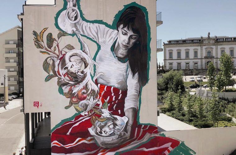 Lula Goce's expressive and innovative street art