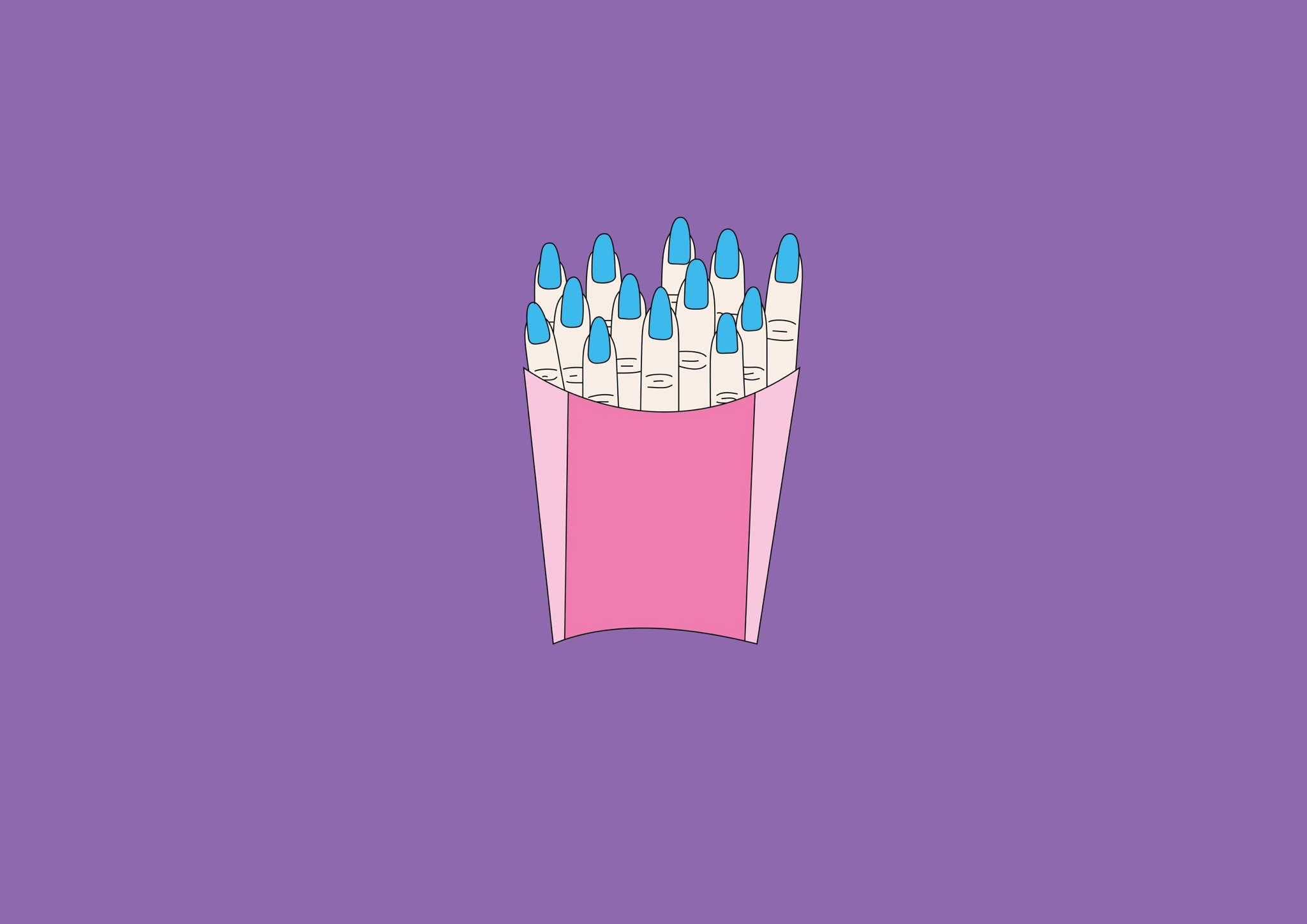 The colorful and desecrating illustrations by Chloe Bennett