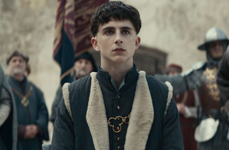 "Lunga vita al re Timothée Chalamet protagonista di ""The King"""