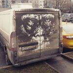 ProBoyNick-l'artista-russo-che-disegna-sulle-auto-sporche-Collateral-4
