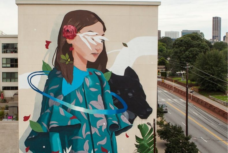 Sabek, murales che esplorano il rapporto uomo-natura