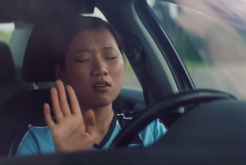 Spotify spot celebrates who stays in the car to listen to a song until the end