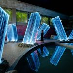 Team Lab Megaliths in the Bath House Ruins | Collater.al 2