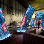 Team Lab Megaliths in the Bath House Ruins | Collater.al 3