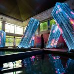 Team Lab Megaliths in the Bath House Ruins | Collater.al 4