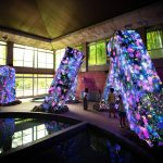 Team Lab Megaliths in the Bath House Ruins | Collater.al 6