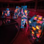 Team Lab Megaliths in the Bath House Ruins | Collater.al 9