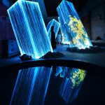 Team Lab Megaliths in the Bath House Ruins | Collater.al 9a