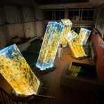 Team Lab Megaliths in the Bath House Ruins | Collater.al 9c