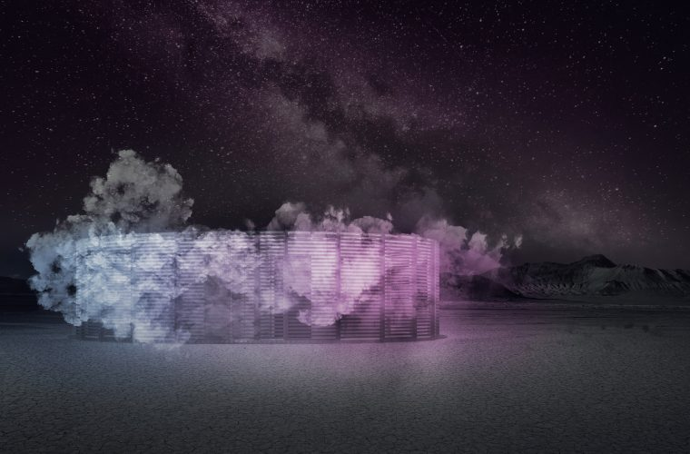 A sauna in the desert? At Burning Man you can.