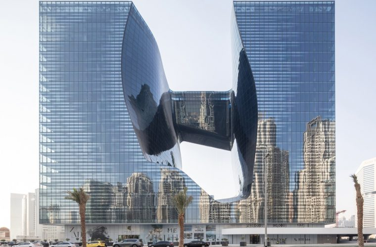 Zaha Hadid Architects shapes new building in Dubai