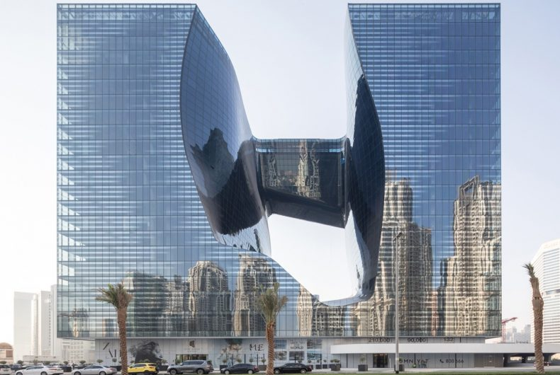 Zaha Hadid Architects shapes new building in Dubai