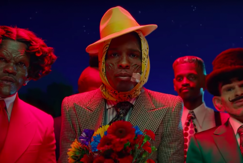 "Guess who's back? Watch new A$AP Rocky video for his latest single ""Babushka Boi"""