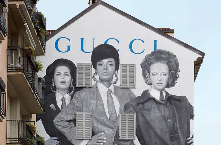 I nuovi ArtWall di Gucci, un inno al Prêt-À-Porter