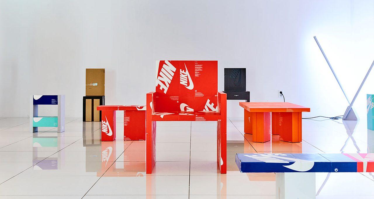 Gyu Han Lee transforms shoe boxes into furniture