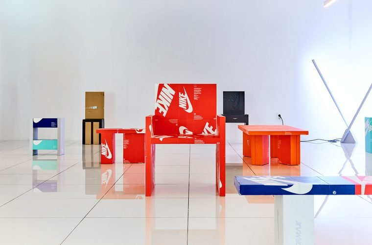 Gyu Han Lee transforms shoe boxes into furniture