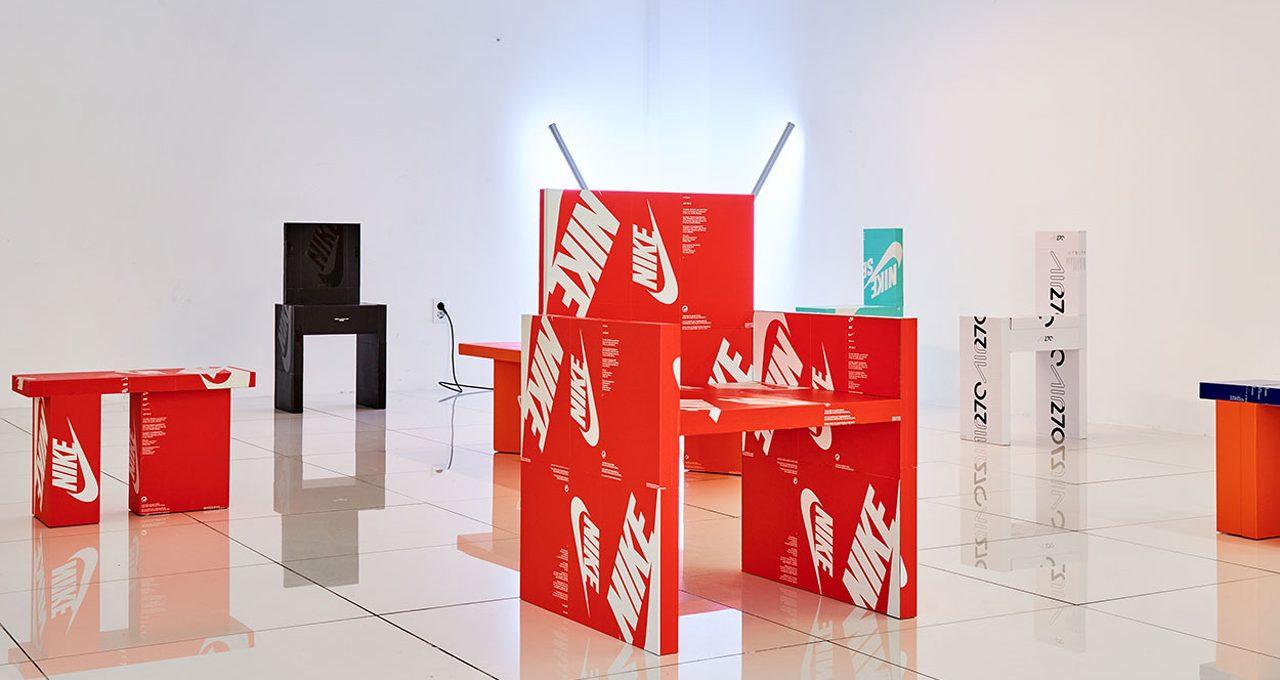 Gyu Han Lee trasforma scatole da scarpe in mobili