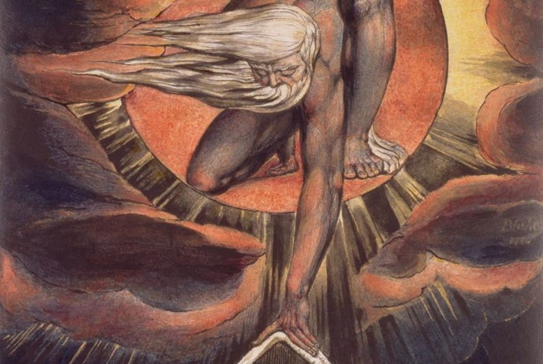 I dipinti di William Blake invadono le strade di Londra
