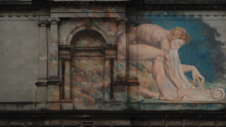 William Blake's paintings invade the streets of London | Collater.al