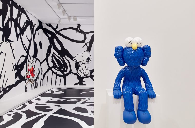 "See how the exhibition KAWS: Companionship In The Age Of Loneliness"" will look like"
