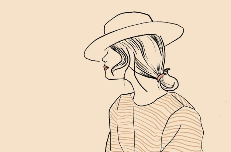 Kati Kohl and her minimalist and feminine illustrations