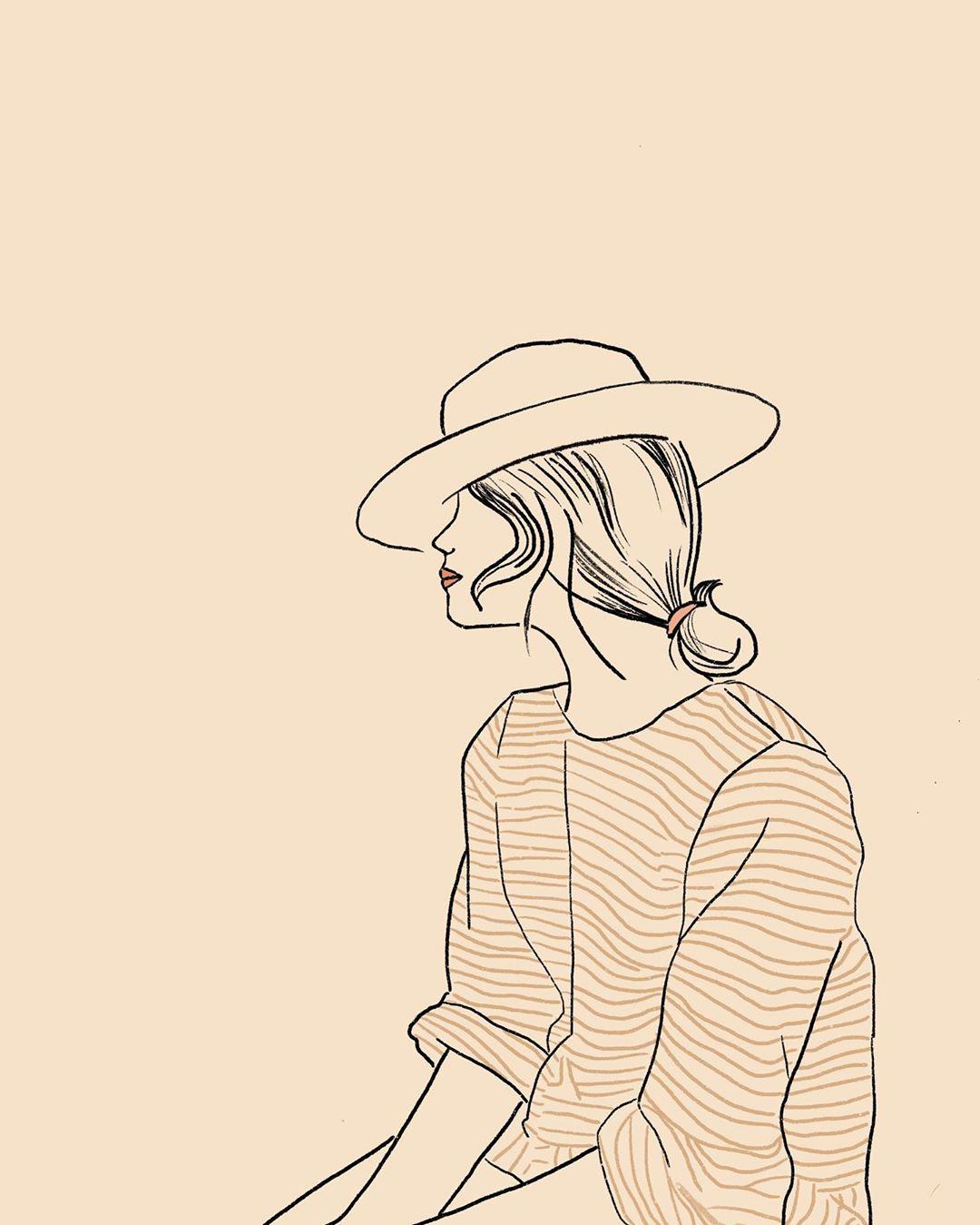 Kati Kohl and her minimalist and feminine illustrations