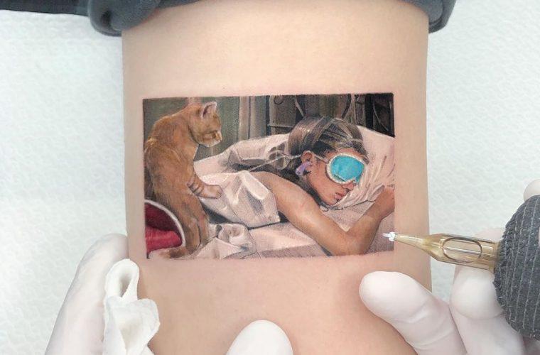 Film e opere d'arte nei tatuaggi di @kozo_tattoo