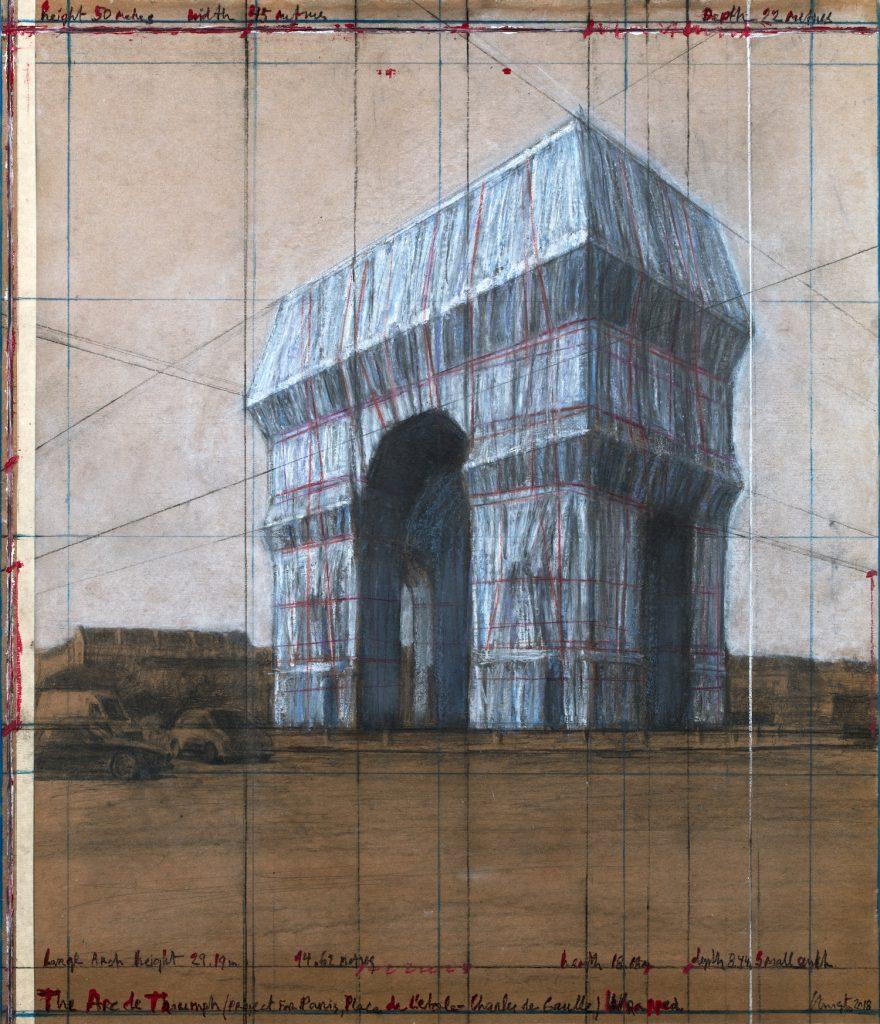 L Arc de Triomphe Wrapped Christo | Collater.al