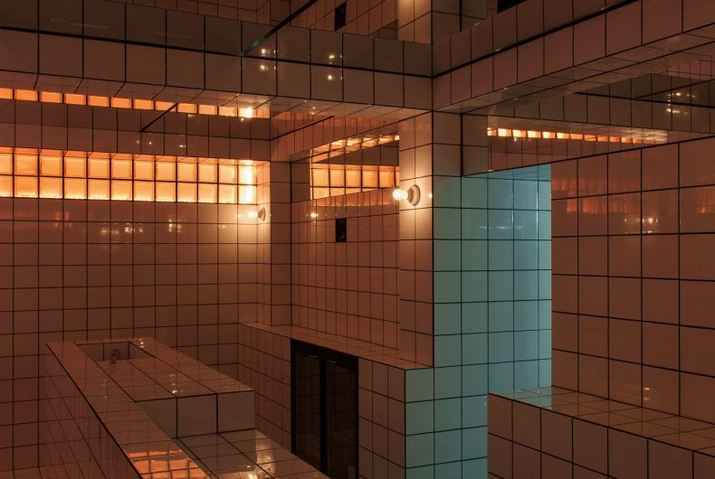 LAX Bar, an installation inspired by the Loos Bar in Vienna