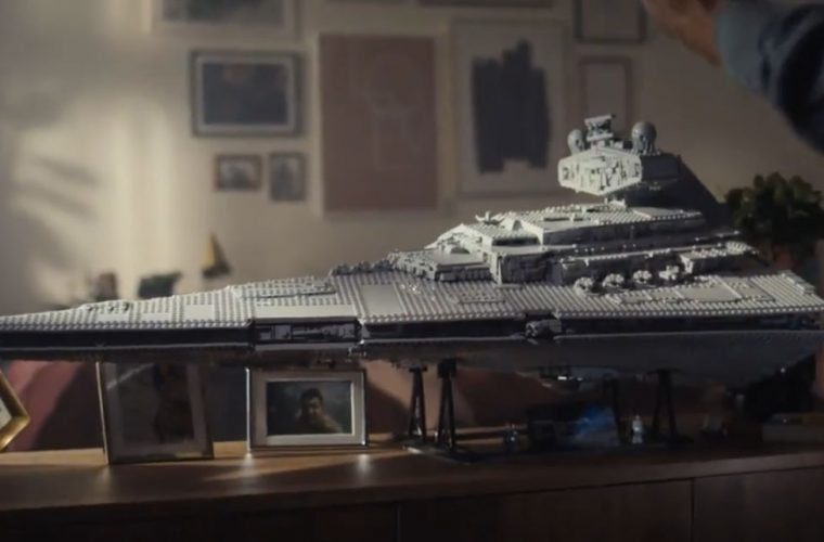 LEGO celebrates Star Wars with the reproduction of the Imperial Star Destroyer