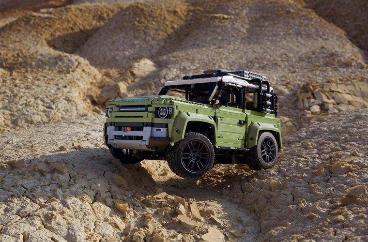 LEGO realizza una versione del nuovo Land Rover Defender