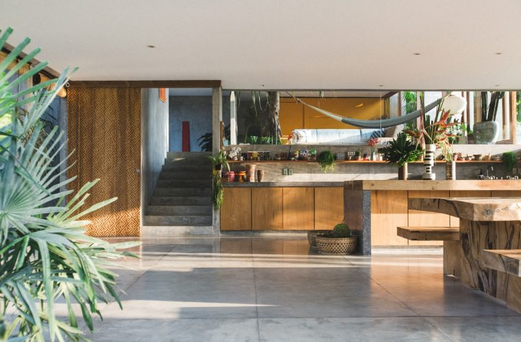 A brutalist house by Dan Mitchell in Bali