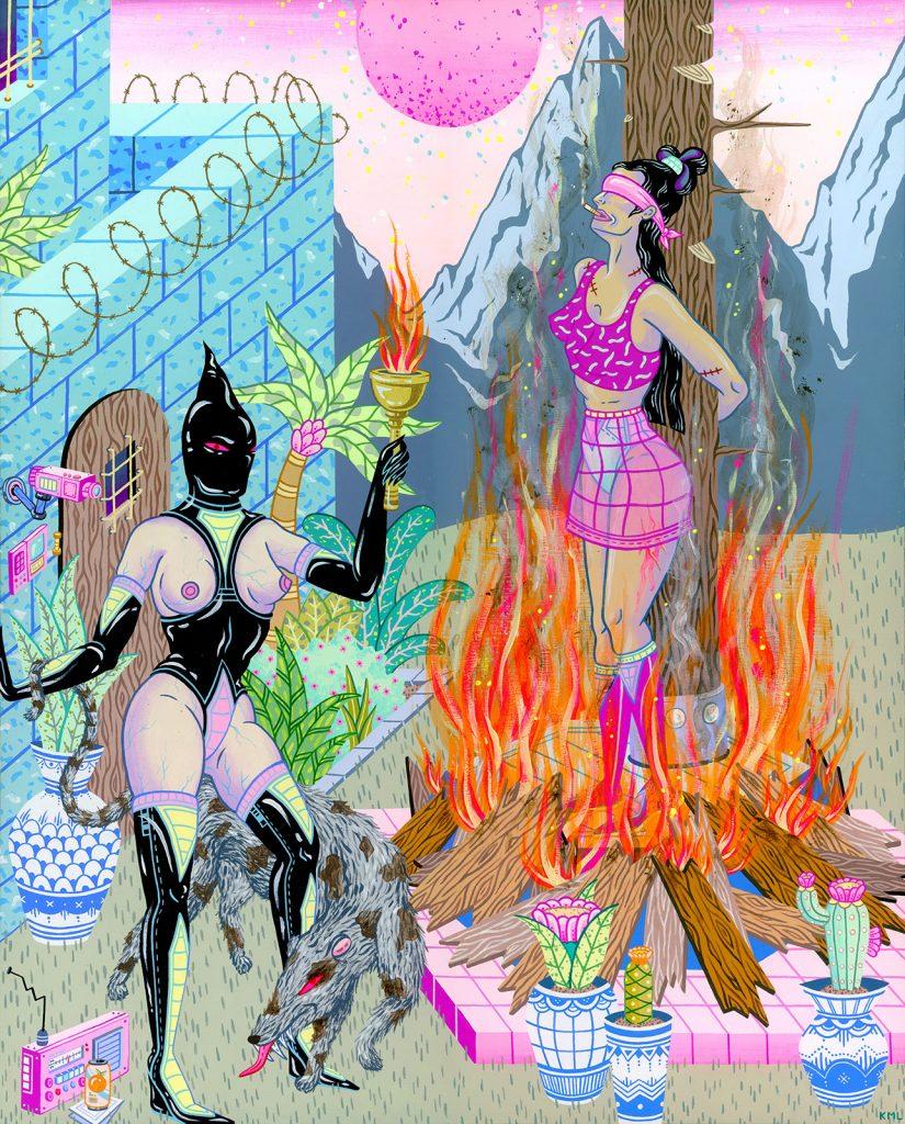 Le illustrazioni NSFW di Kristen Liu-Wong | Collater.al