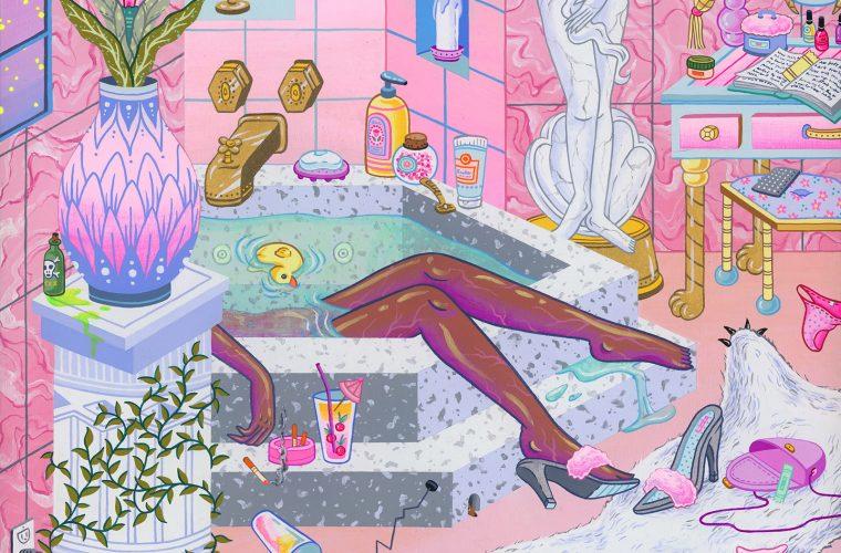 Le illustrazioni NSFW di Kristen Liu-Wong