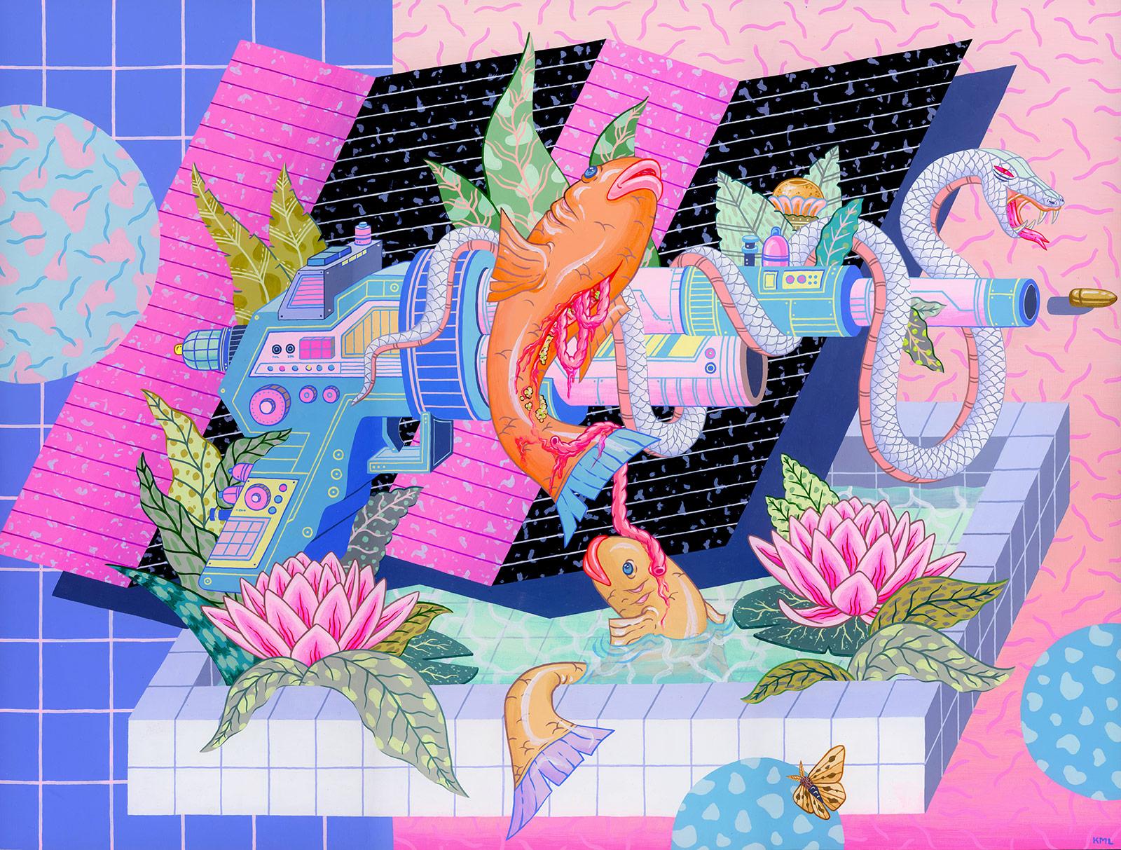 NSFW illustrations by Kristen Liu-Wong