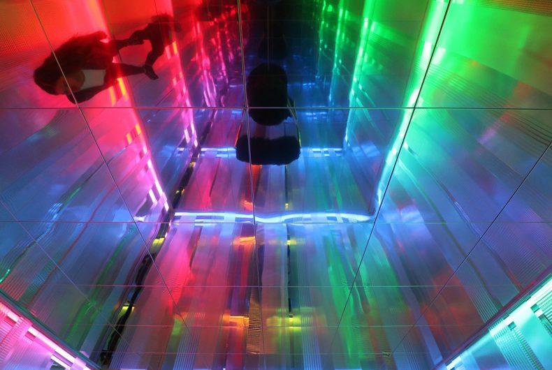 "The ""Light Project"" by Nanda Vigo in Milan"