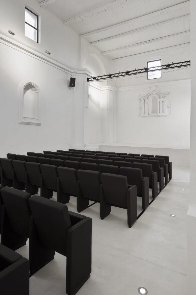 Luigi Valente + Mauro Di Bona: l'auditorium di San Rocco | Collater.al