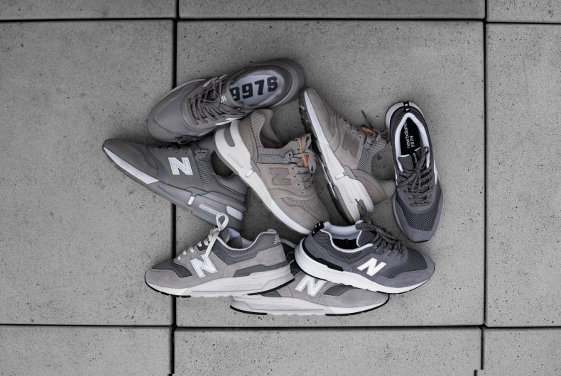 New Balance celebrates grey with 5 iconic sneakers