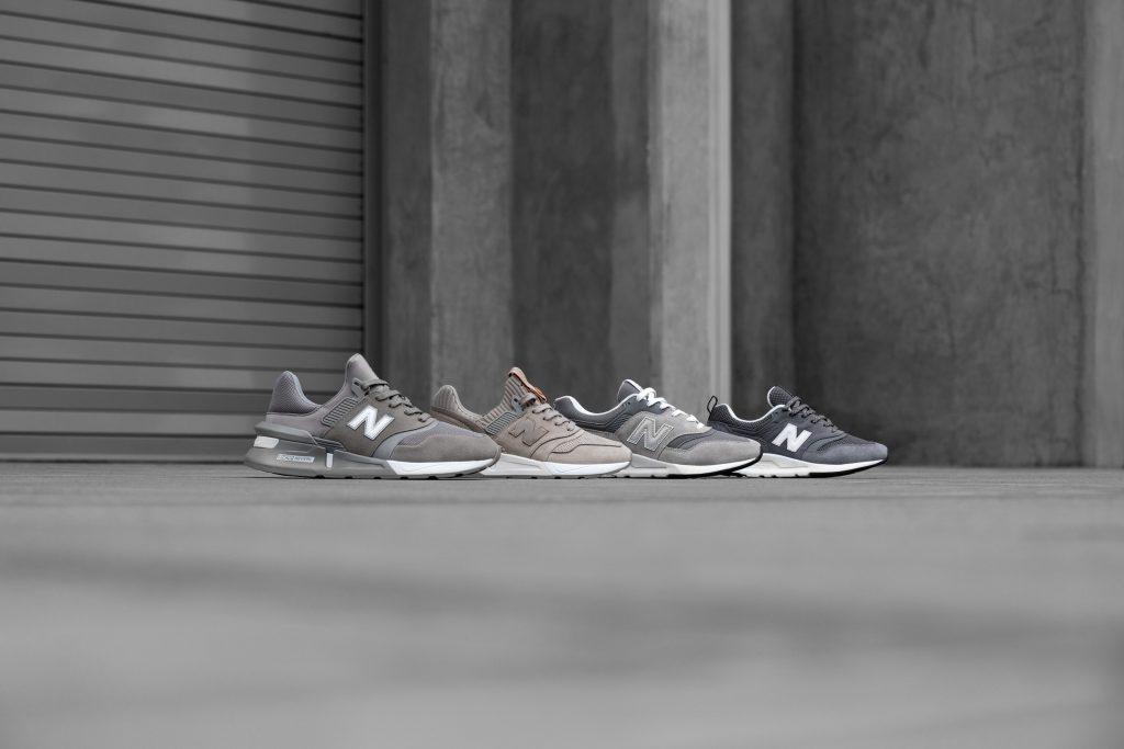 new balance 22 grigio