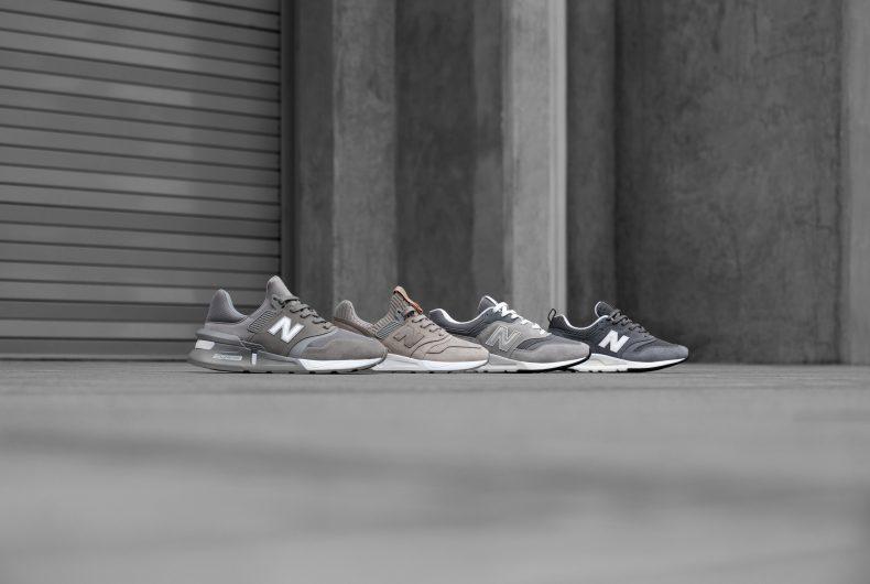 New Balance celebra il grigio con 5 sneakers iconiche