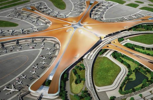 Beijing Daxing l'aeroporto progettato da Zaha Hadid Architects