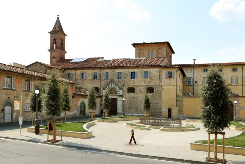 The architecture workshop in a stunning Tuscan monastery