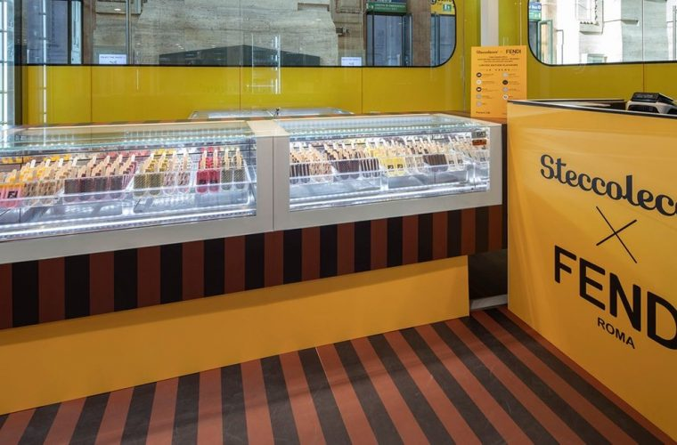 Steccolecco e Fendi aprono la loro gelateria pop-up