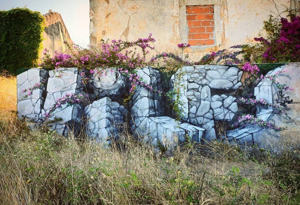 Vile, lo street artist portoghese che illude lo spettatore | Collater.al